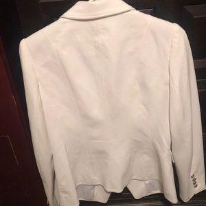 White House Black Market Jackets & Coats - White jacket blazer sports coat